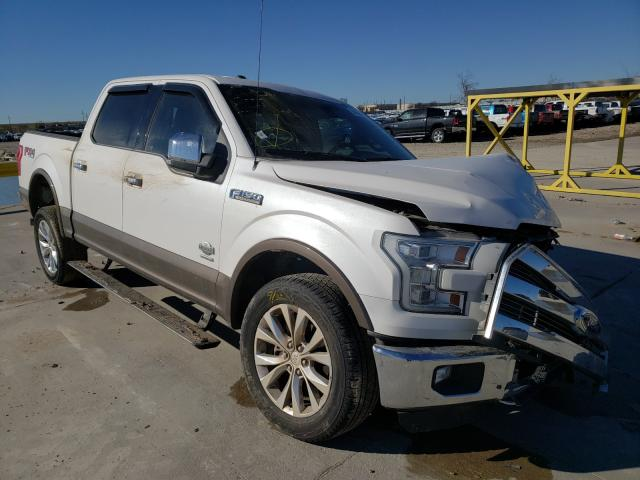 Salvage 2015 FORD F-150 - Small image. Lot 34558741