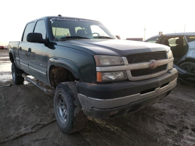 Salvage cars for sale from Copart Temple, TX: 2003 Chevrolet Silverado