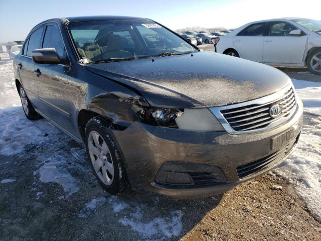 Salvage cars for sale from Copart Temple, TX: 2009 KIA Optima LX