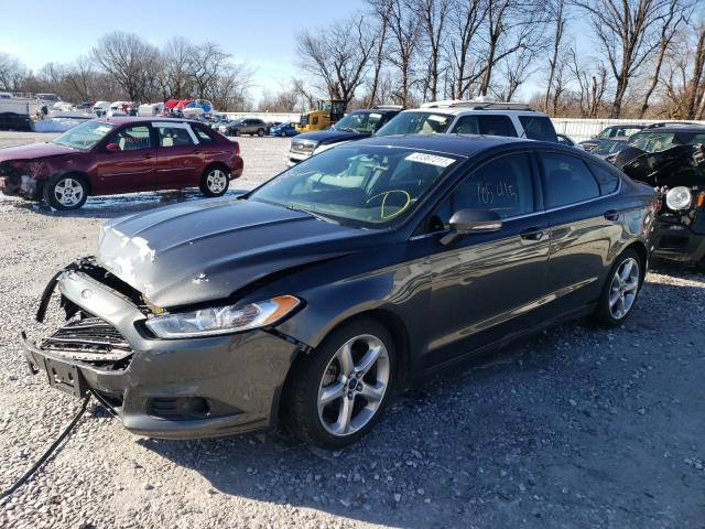 2016 FORD FUSION SE - Left Front View