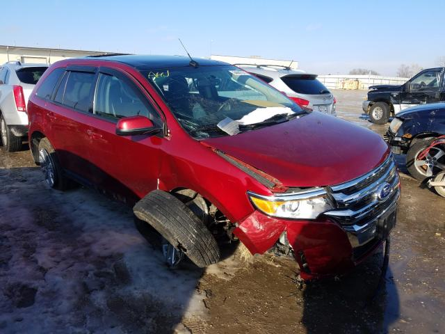 Salvage cars for sale from Copart Indianapolis, IN: 2014 Ford Edge SEL