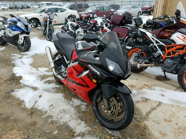 Honda CBR600 F4 salvage cars for sale: 2004 Honda CBR600 F4