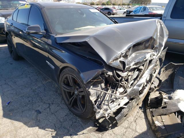 Salvage cars for sale from Copart Colton, CA: 2014 BMW 750 I