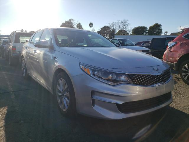 Salvage cars for sale from Copart Vallejo, CA: 2017 KIA Optima EX