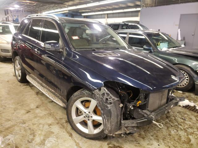 Mercedes-Benz salvage cars for sale: 2017 Mercedes-Benz GLE 350 4M