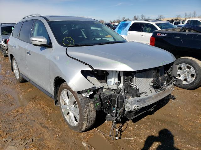 Salvage cars for sale from Copart Bridgeton, MO: 2018 Nissan Pathfinder