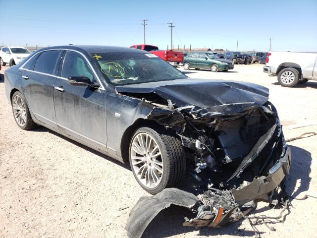 Salvage cars for sale from Copart Andrews, TX: 2017 Cadillac CT6 Premium
