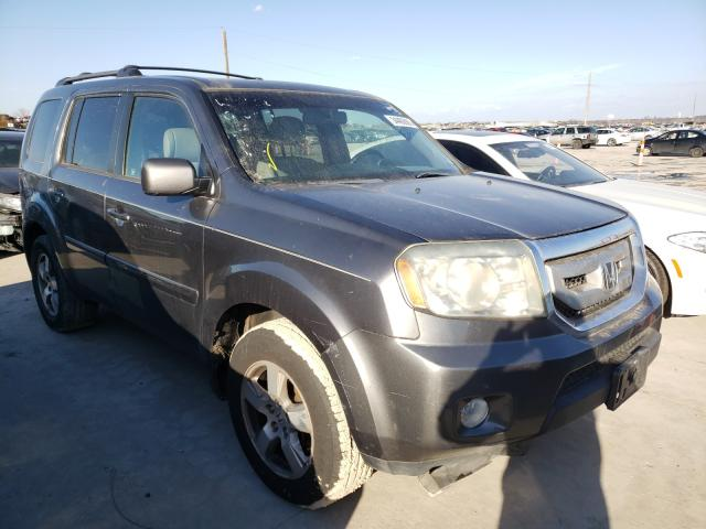 Salvage cars for sale from Copart Grand Prairie, TX: 2011 Honda Pilot EXL