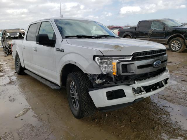 Salvage cars for sale from Copart Temple, TX: 2018 Ford F150 Super