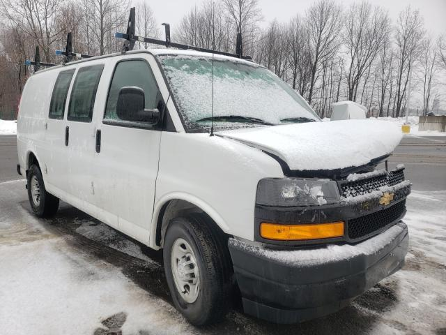 Salvage cars for sale from Copart East Granby, CT: 2018 Chevrolet Express G2