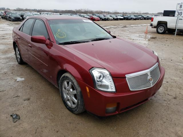 Salvage cars for sale from Copart Temple, TX: 2007 Cadillac CTS HI FEA
