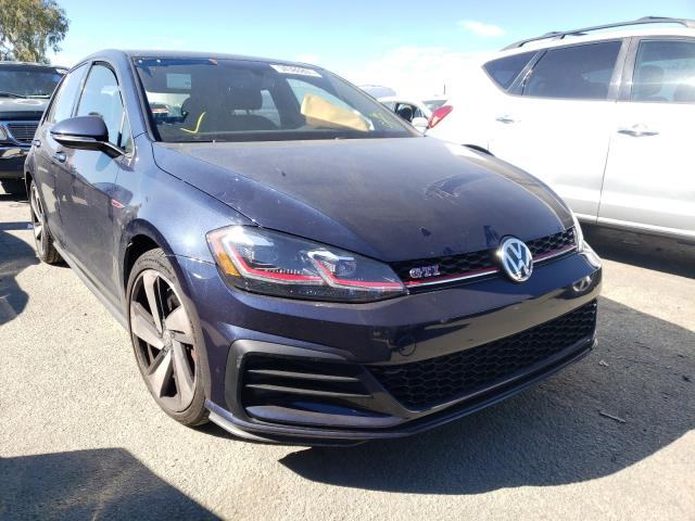 Salvage cars for sale from Copart Martinez, CA: 2018 Volkswagen GTI S/SE