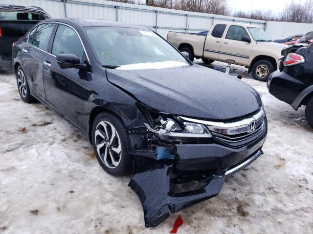 Salvage cars for sale from Copart Columbia Station, OH: 2017 Honda Accord EXL
