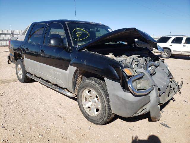 Salvage cars for sale from Copart Andrews, TX: 2002 Chevrolet Avalanche