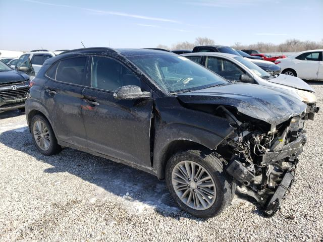 Salvage cars for sale from Copart Wichita, KS: 2018 Hyundai Kona SEL