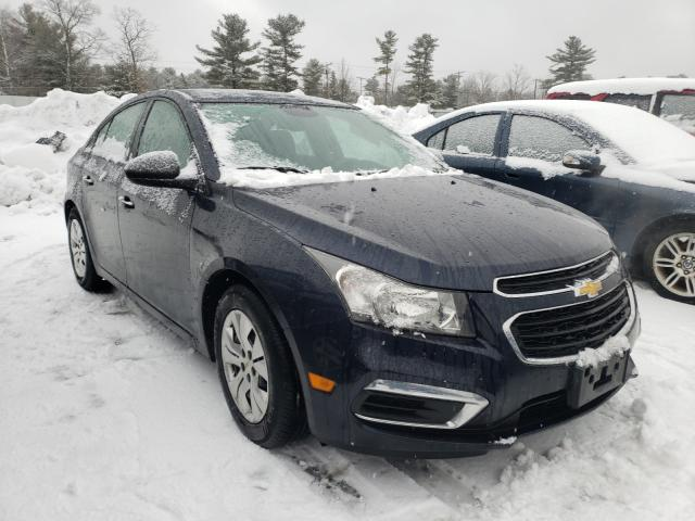Salvage cars for sale from Copart Exeter, RI: 2016 Chevrolet Cruze Limited