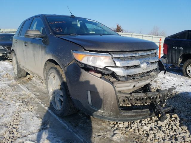 Salvage cars for sale from Copart Kansas City, KS: 2012 Ford Edge Limited