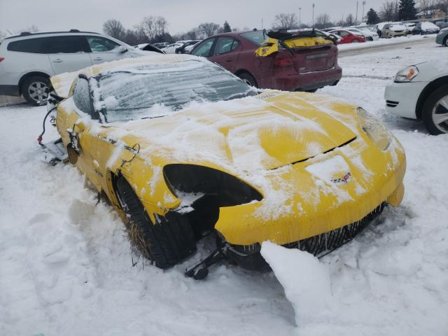 Salvage cars for sale from Copart Columbus, OH: 2007 Chevrolet Corvette Z