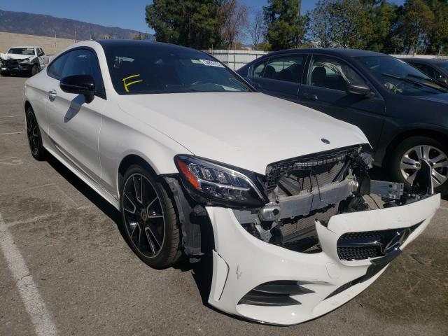 Salvage cars for sale from Copart Rancho Cucamonga, CA: 2019 Mercedes-Benz C300