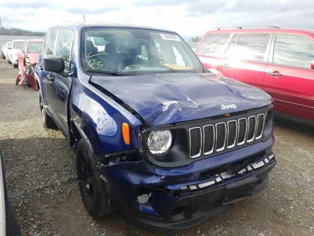 Salvage cars for sale from Copart Anderson, CA: 2019 Jeep Renegade S