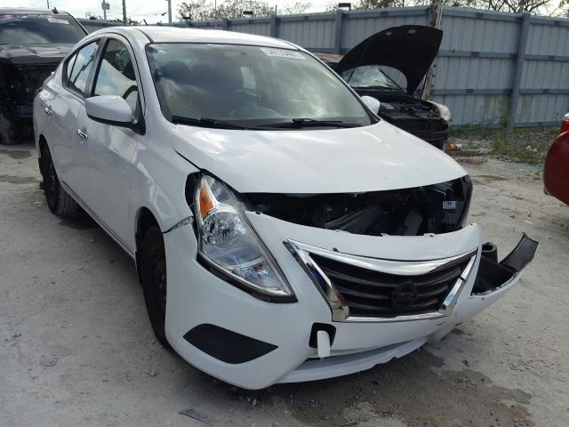 Salvage cars for sale from Copart Homestead, FL: 2016 Nissan Versa S