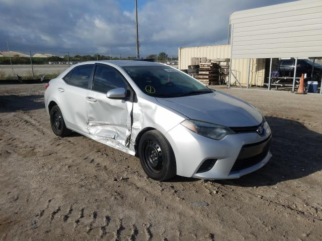 Salvage cars for sale from Copart West Palm Beach, FL: 2016 Toyota Corolla L