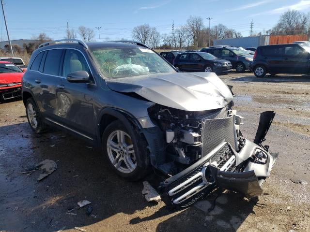Salvage cars for sale from Copart Bridgeton, MO: 2020 Mercedes-Benz GLB 250 4M