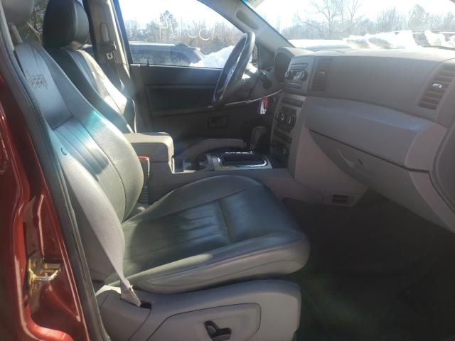 2007 JEEP GRAND CHER - Left Rear View