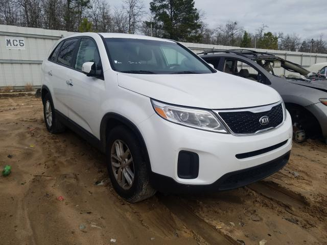Salvage cars for sale from Copart Gaston, SC: 2014 KIA Sorento LX