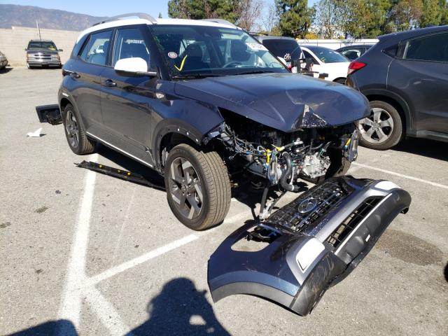 Salvage cars for sale from Copart Rancho Cucamonga, CA: 2021 Hyundai Venue SEL