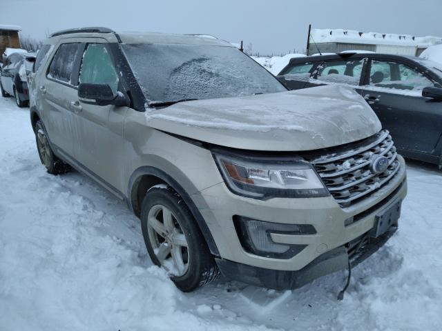 Salvage cars for sale from Copart Anchorage, AK: 2017 Ford Explorer X