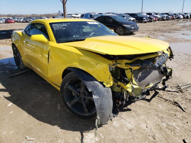 Salvage cars for sale from Copart Temple, TX: 2015 Chevrolet Camaro LT
