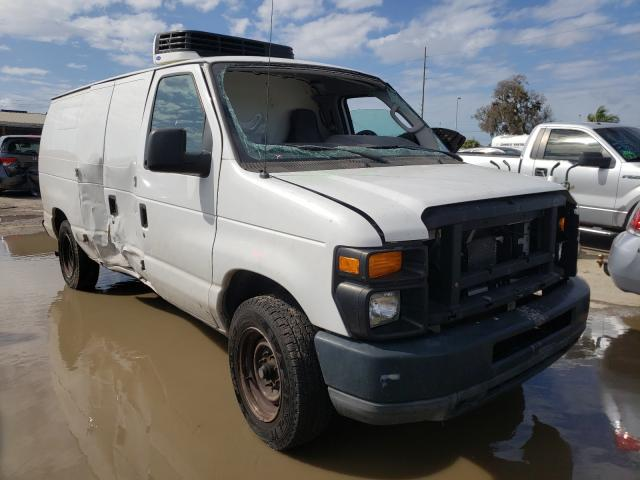 Salvage cars for sale from Copart Riverview, FL: 2011 Ford Econoline