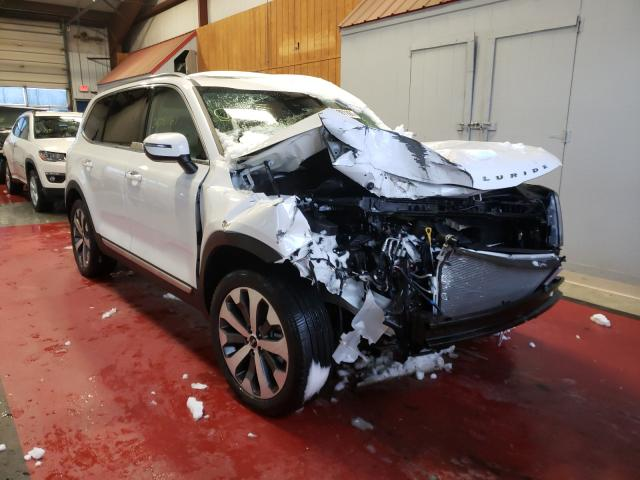 Salvage cars for sale from Copart Angola, NY: 2020 KIA Telluride