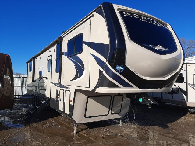 Keystone Montana salvage cars for sale: 2019 Keystone Montana