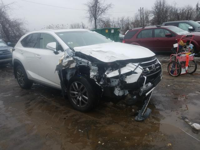 Salvage cars for sale from Copart Baltimore, MD: 2016 Lexus NX 200T BA