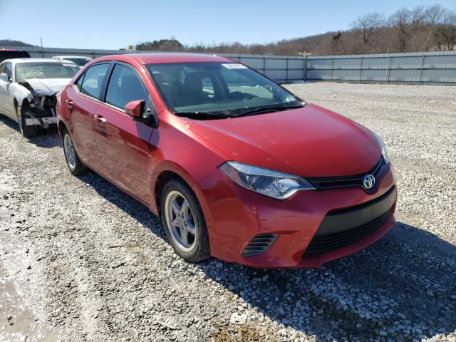 Salvage cars for sale from Copart Prairie Grove, AR: 2016 Toyota Corolla L