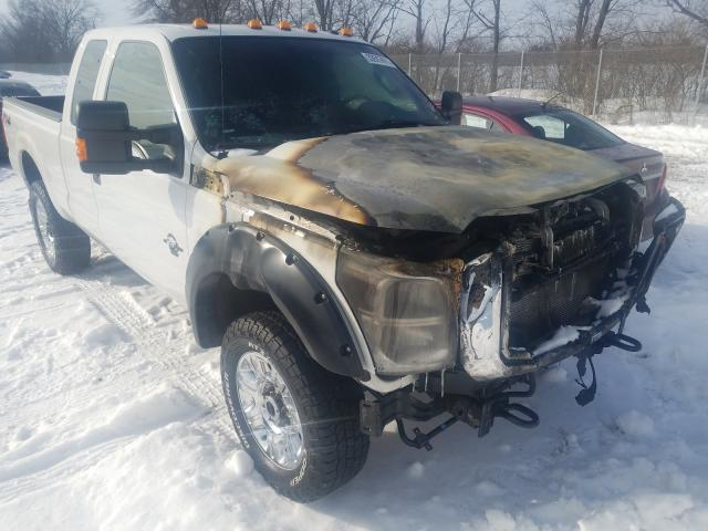 Salvage cars for sale from Copart Cicero, IN: 2013 Ford F350 Super