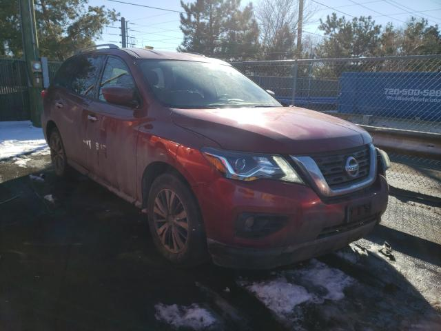 Salvage cars for sale from Copart Denver, CO: 2018 Nissan Pathfinder