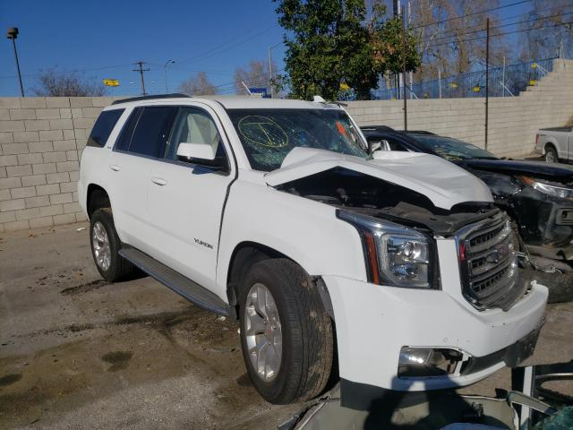 Salvage cars for sale from Copart Colton, CA: 2017 GMC Yukon SLE