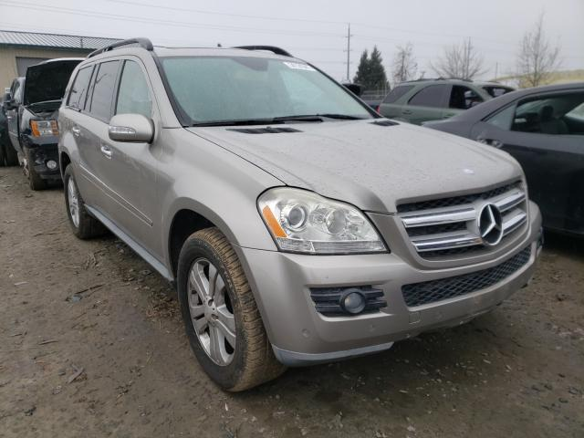 Salvage cars for sale from Copart Eugene, OR: 2008 Mercedes-Benz GL 320 CDI