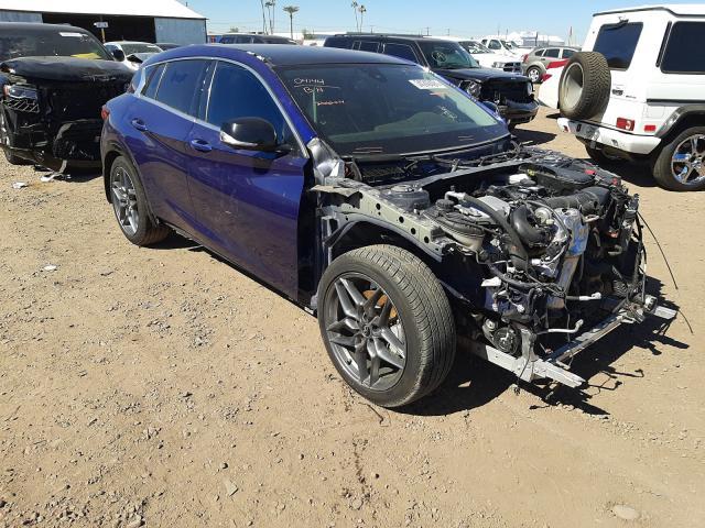 Salvage cars for sale from Copart Phoenix, AZ: 2018 Infiniti QX30 Base