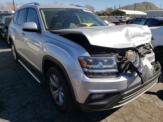 Salvage cars for sale from Copart Colton, CA: 2018 Volkswagen Atlas SE