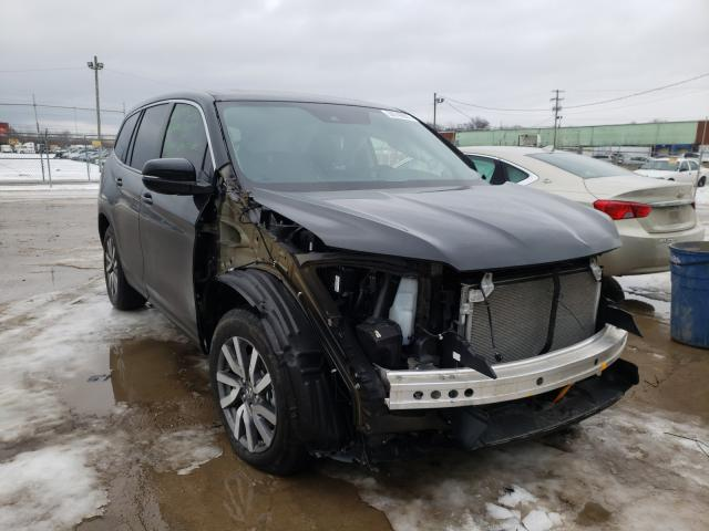 Salvage cars for sale from Copart Columbus, OH: 2020 Honda Pilot EXL