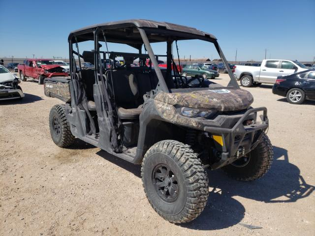 Salvage cars for sale from Copart Andrews, TX: 2021 Can-Am Defender M