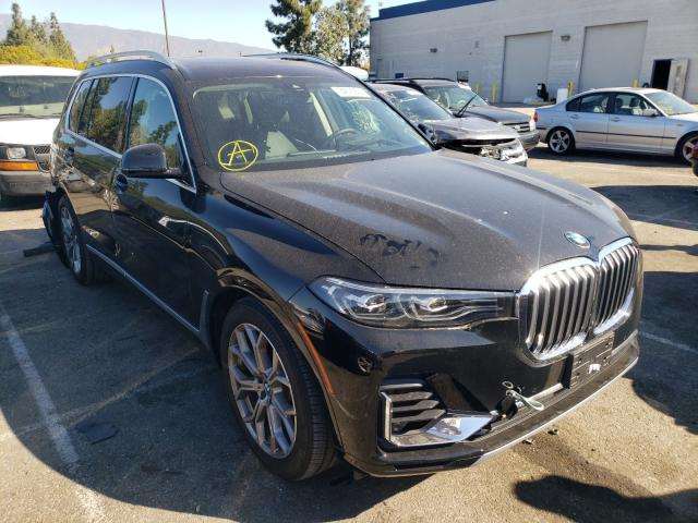 Salvage cars for sale from Copart Rancho Cucamonga, CA: 2020 BMW X7 XDRIVE4