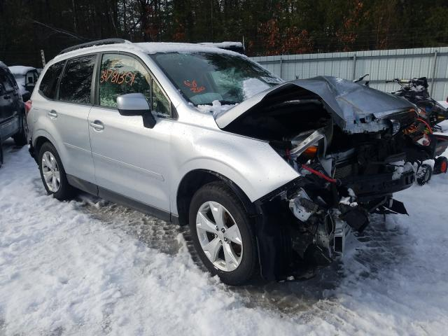 Salvage cars for sale from Copart Lyman, ME: 2015 Subaru Forester 2