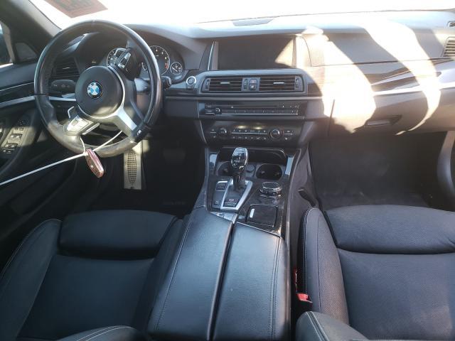 2014 BMW 550 I - Odometer View