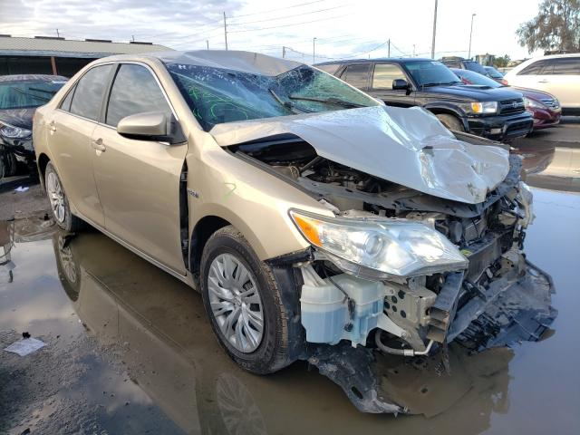 2012 TOYOTA CAMRY HYBR - Left Front View