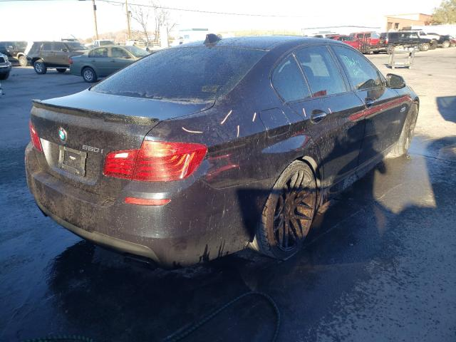 2014 BMW 550 I - Right Rear View